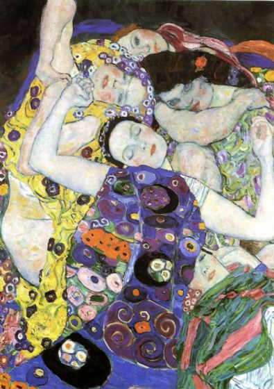 Klimt, Gustav: The Maiden/The Virgin (Detail), 1913. Fine Art Print/Poster. Sizes: A4/A3/A2/A1 (00648)
